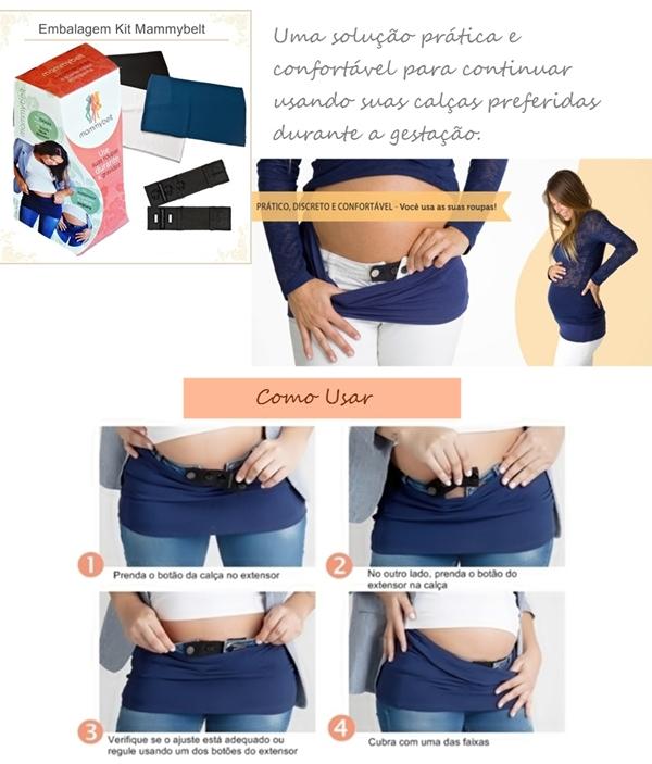 Extensor para calça jeans   Mammybelt roupa para gestante extensor para calça jeans calça jeans para gestante