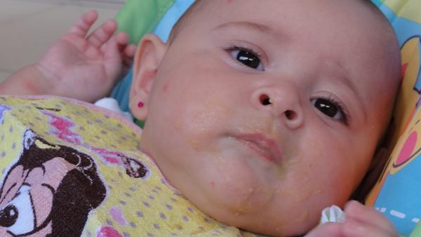 papinha salgada para bebe
