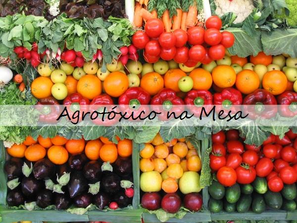 agrotoxico na mesa