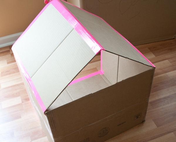casinha de papelao para bebe 3-vert