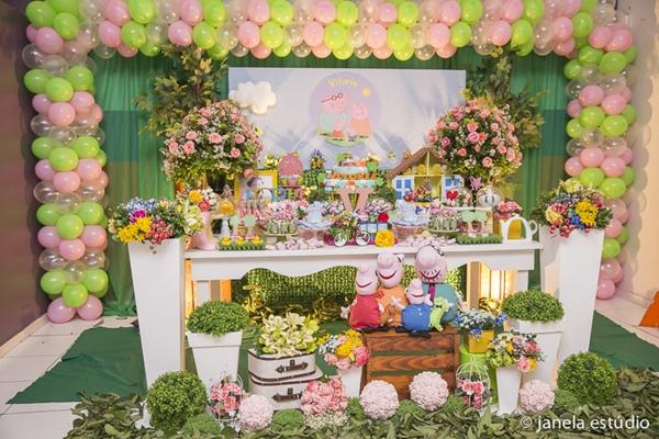 Festa Peppa Pig-vert